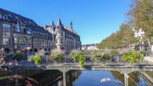 Beautiful Quimper, The City In Bretagne