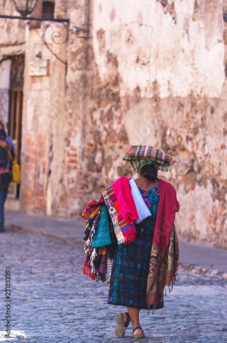 Spoed Foto op Canvas Centraal-Amerika Landen People in Guatemala