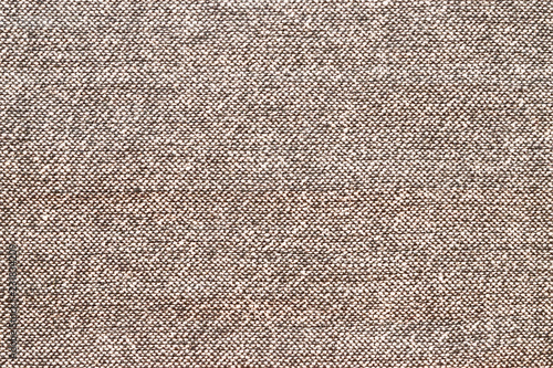 Background texture gray with brown fabric, close-up