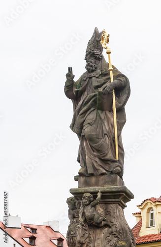 Foto  Statue of St