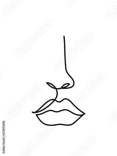 grafika-liniowa-streszczenie-twarzy-ciagle-rysowanie-linii-minimalistyczne-logo