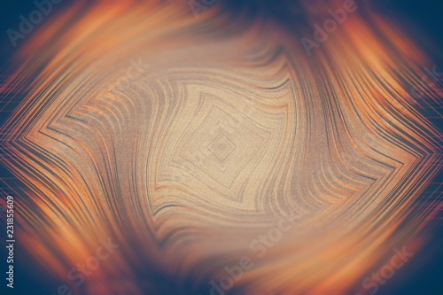 Fotografie, Obraz  abstract background the distortion of space geometry