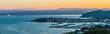 Sunrise in Izola from above, Slovenia