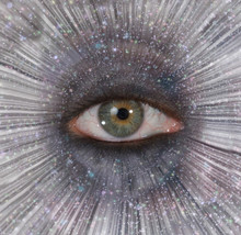 Eye In Star Burst
