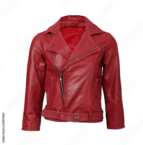 red leather jacket Wall mural