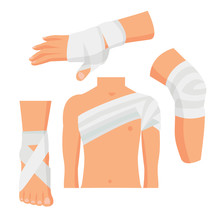 Elastic Medical Bandage Set Bo...