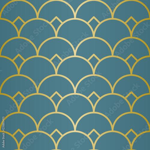 Tapety Orientalne  luksusowy-wzor-geometryczny-bezszwowe-linie-wektorowe-zloty-wyglad