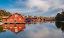 Harstena, A Little Fishing Village In The Gryt Skerry Garden, Swedish Eastcoast