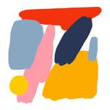 Minimalist Bright Abstract Drawing - 231945009