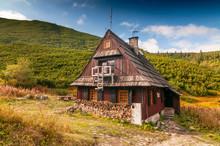 Mountain Hut In Gasienicowa Valley, Tatra Mountains, Poland.
