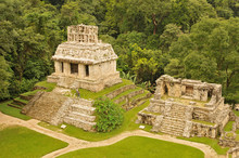 Panorama Of Palenque Archaeolo...
