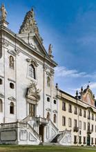Facade Of Certosa Di Calci