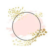 Abstract Circle Geometric Vect...