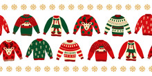 Ugly Christmas Sweaters Seamle...