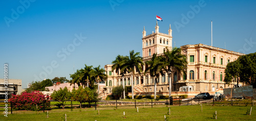 Photo Presidential Palace in Asuncion, Paraguay