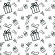 Christmas Seamless Background Pattern