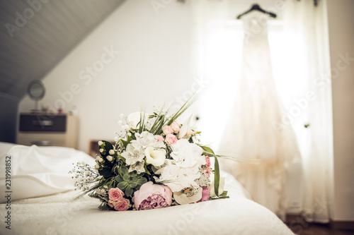 Cuadros en Lienzo  préparatifs mariage