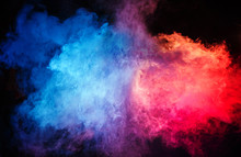 Abstract - Colorful Cloud Of D...