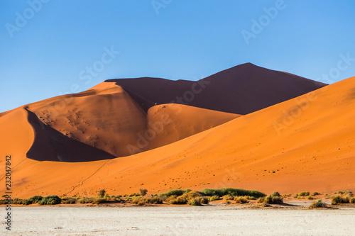 The Namib Desert Big Daddy Dune In Sossusvlei Namibia