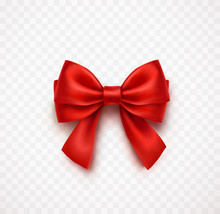 Bow Isolated On Transparent Ba...
