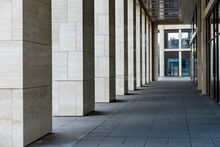 Colonnade Beige Near The Building