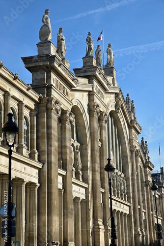 In de dag Noord Europa Façade gare du Nord à Paris, France