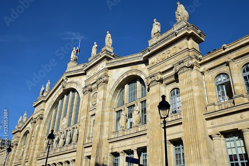 Keuken foto achterwand Noord Europa Gare du Nord à Paris, France
