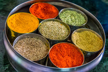 Indian Spice Wheel