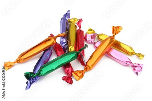 Fotografie, Obraz  Fruit candy - Bonbons aux fruits