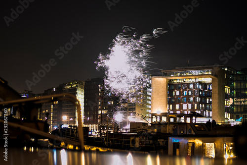 Fotografía  Fireworks on Amsterdam