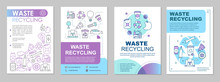 Waste Recycling Brochure Templ...