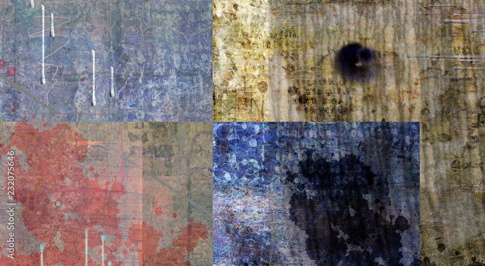 Fototapeta Muted Abstract Painting
