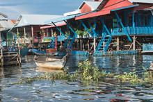 Life In A Floating Villages In...