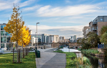 Cityscape Of Edinburgh, Scotla...