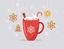 Merry Christmas, Winter Scene ...