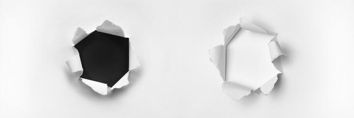 Schwarzes und Weißes Loch