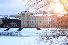 City Landscape Architecture Winter