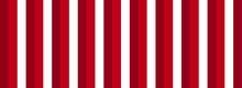 Red Striped Banner