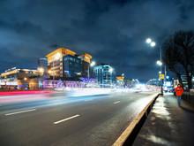 Traffic On Novospasskiy Bridge...