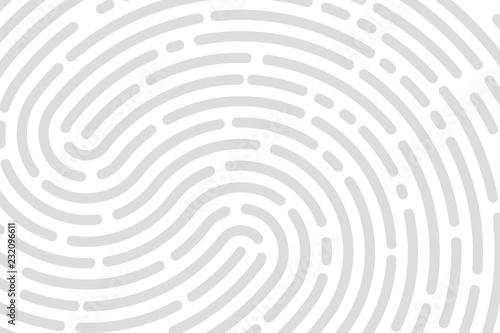 Valokuva  White background fingerprint
