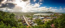Panoramic View Of Baracoa With...