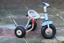 Retro Child Tricycle Bike On T...