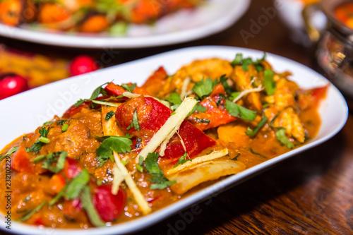 Fotografia, Obraz  Indian Chicken Jalfrezi Curry