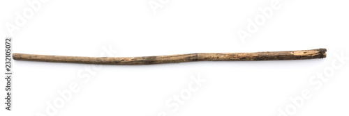 magic staff on a white background Fototapeta