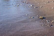 Soft Focus Sea Sand And Stones...