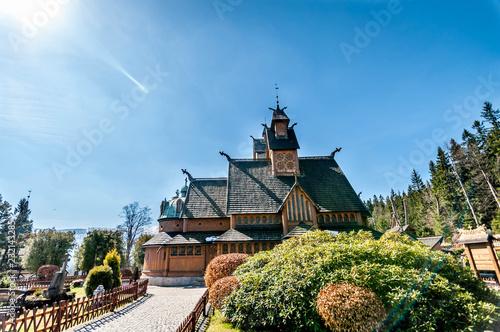 Obraz Vang stave church - fototapety do salonu