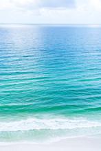 Emerald Green Ocean Water