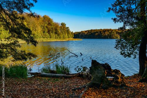 Photo  Einer der saubersten Seen Brandenburgs: der Liepnitzsee am 66-Seen-Wanderweg bei