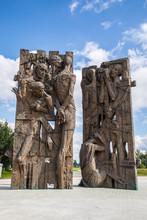 'Gate Of Memory' (sculptor K. ...