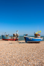 Traditional Fishing Boats On T...